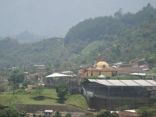 Paseo por Mexico Templo parroquial de Santiago Apóstol en Huitzilan