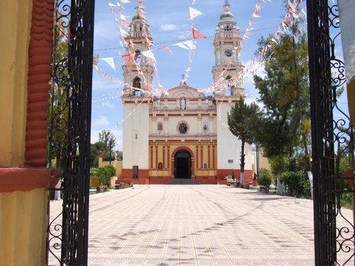 Paseo por Mexico Parroquia de San Juan Bautista de Ixcaquixtla