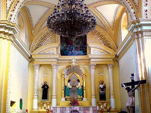 Paseo por Mexico Interior de Iglesia de San Juan de Dios en Izúcar de Matamoros
