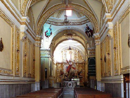 Paseo por Mexico Interior de Iglesia del Apóstol Santiago en Izúcar de Matamoros