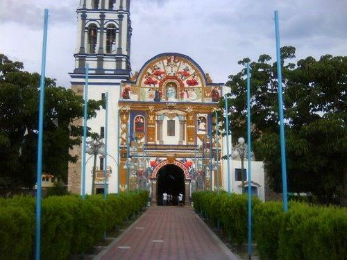 Paseo por Mexico Iglesia parroquial en devoción de Santa María Jolalpan