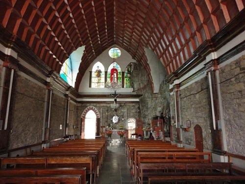 Paseo por Mexico Interior de Santuario del Peñón en Jonotla