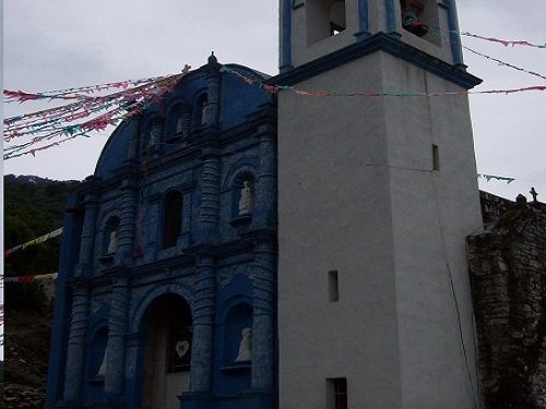 Paseo por Mexico Iglesia Parroquial de Patla en Jopala