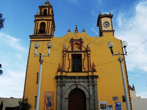 Paseo por Mexico Parroquia de San Juan Bautista en Libres