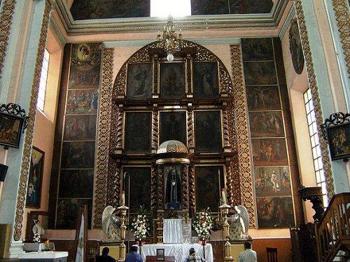Paseo por Mexico Interior de Parroquia de San Juan Bautista en Libres