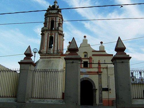 Paseo por Mexico Capilla de Nuestra Señora de Guadalupe en Libres