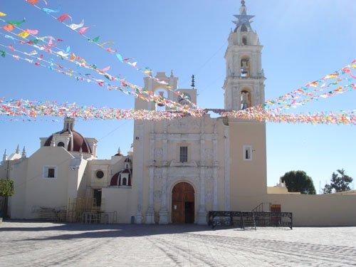 Paseo por Mexico Iglesia Parroquial de Los Reyes de Juárez