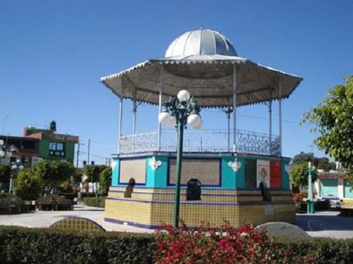 Paseo por Mexico Kiosco de Los Reyes de Juárez