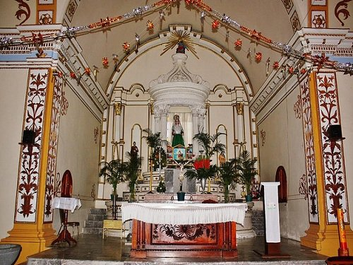 Paseo por Mexico Interior de Iglesia de Santa Margarita en Mazapiltepec de Juárez