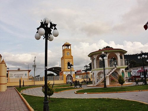 Paseo por Mexico Zócalo de Mazapiltepec de Juárez