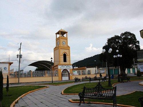 Paseo por Mexico Reloj de Mazapiltepec de Juárez