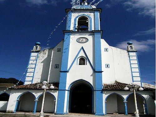 Paseo por Mexico Iglesia Parroquial a Santa María de la Natividad en Nauzontla