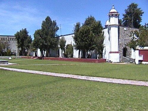 Paseo por Mexico Ex hacienda Santiago Texmelucan en Oriental