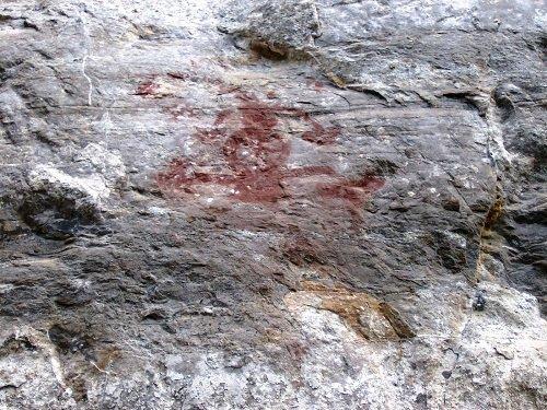 Paseo por Mexico Pinturas rupestres en Pahuatlán