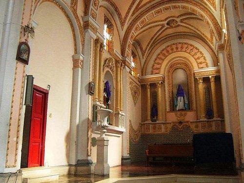 Paseo por Mexico Interior de Iglesia de San Agustín en Palmar de Bravo