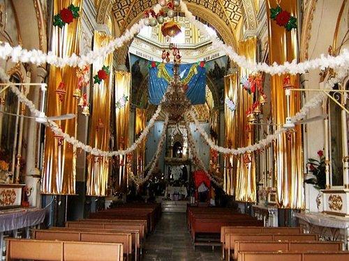 Paseo por Mexico Interior de Templo de Santiago Apóstol en Petlalcingo