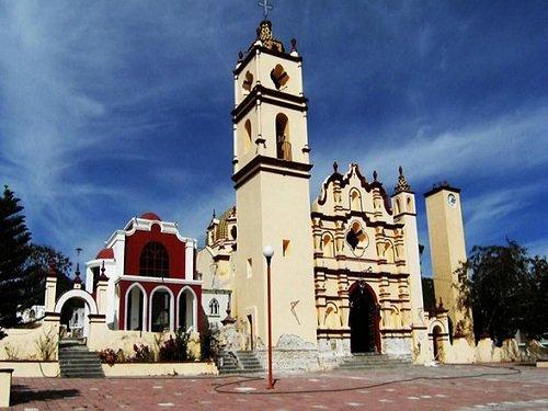 Paseo por Mexico Templo del Señor del Calvario en Petlalcingo