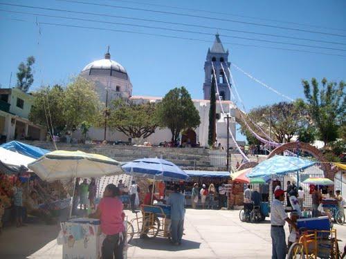 Paseo por Mexico Iglesia de San Martin Tecuautitlan en Piaxtla
