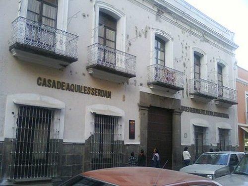 Paseo por Mexico Museo de la Revolución o Casa de Aquiles Serdán en Puebla