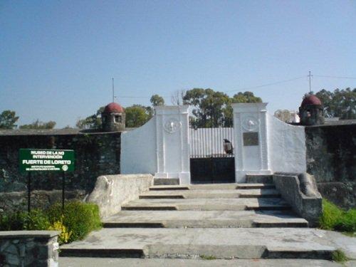 Paseo por Mexico Museo de Guerra o de la no Intervención en Puebla