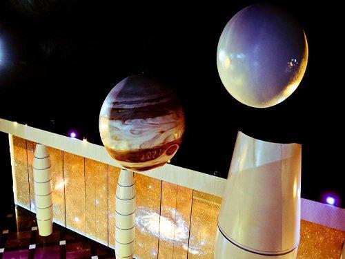 Paseo por Mexico Planetario en Puebla