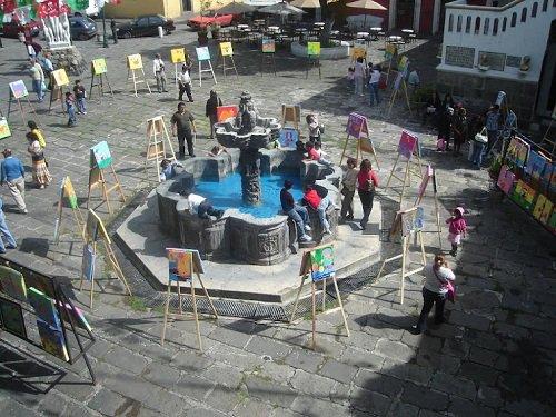 Paseo por Mexico Barrio del Artista en Puebla