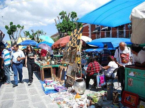Paseo por Mexico Mercado de Antigüedades