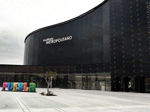 Paseo por Mexico Auditorio Siglo XXI hoy Metropolitano en Puebla