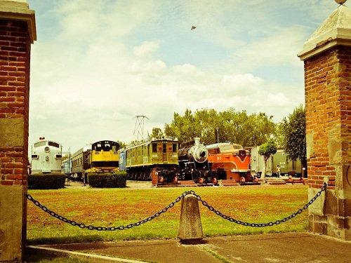 Paseo por Mexico Museo Nacional del Ferrocarril en Puebla