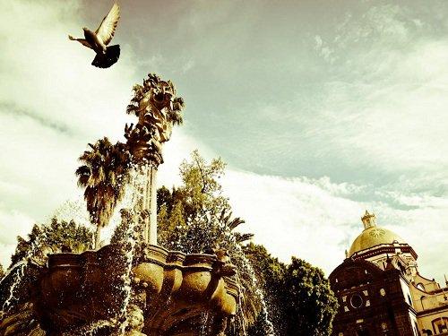Paseo por Mexico Zócalo de la Ciudad de Puebla