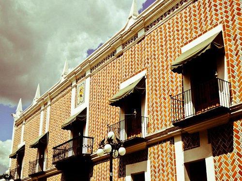 Paseo por Mexico Edificio de Correos de Puebla