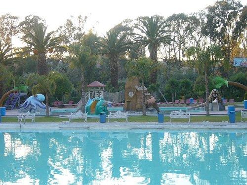 Paseo por Mexico Balneario y Parque Acuático Agua Azul en Puebla