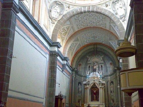 Paseo por Mexico Interior de Templo de San Ildefonso en Puebla