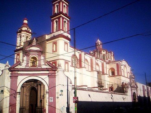 Paseo por Mexico Templo de San Juan de Dios en Puebla
