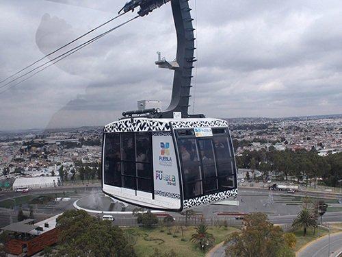 Paseo por Mexico Teleférico de Puebla