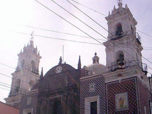 Paseo por Mexico Iglesia de Nuestra Señora de la Luz en Puebla