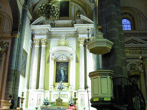 Paseo por Mexico Interior de Iglesia de Nuestra Señora de la Luz en Puebla