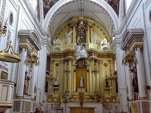 Paseo por Mexico Interior de Ex convento de Santa Inés en Puebla