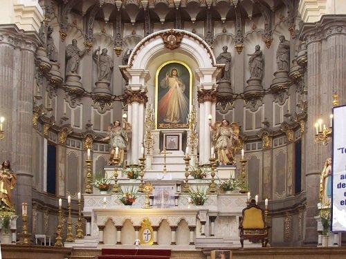Paseo por Mexico Interior de Templo de la Compañía de Jesús en Puebla