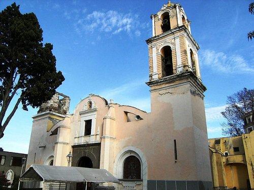 Paseo por Mexico Parroquia de Santa Anita y del Señor de la Salud en Puebla