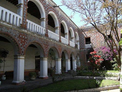 Paseo por Mexico Ex Convento Santa Monica en Puebla
