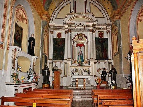 Paseo por Mexico Interior de Ex Convento de San Antonio de Padua en Puebla