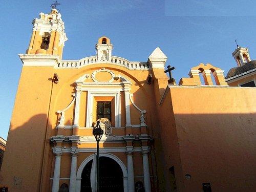 Paseo por Mexico Capilla San Juan de Letrán en Puebla