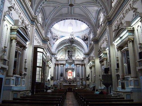 Paseo por Mexico Interior de Ex Convento la Limpia Concepción de Nuestra Señora en Puebla