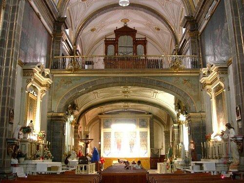 Paseo por Mexico Interior de Iglesia de la Concordia en Puebla