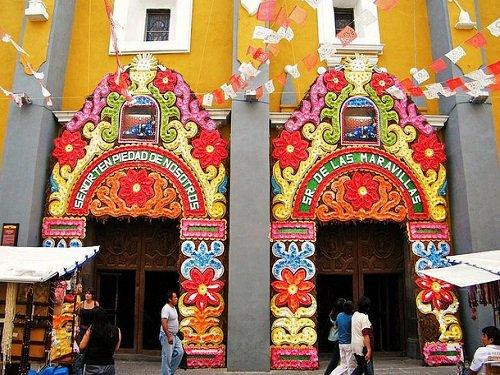 Paseo por Mexico Convento de Santa Mónica en Puebla