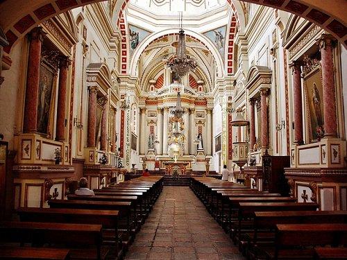 Paseo por Mexico Detalle de Ex Convento Santa Rosa de Lima en Puebla