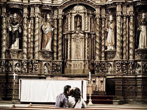 Paseo por Mexico Interior de Templo de Santo Domingo en Puebla