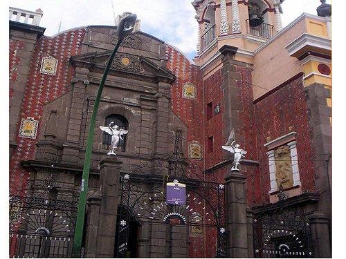 Paseo por Mexico Templo del Antiguo Hospital de Nuestra Señora de Belén en Puebla