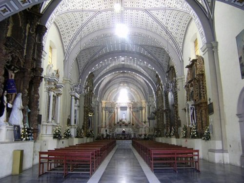 Paseo por Mexico Interior de Ex convento de Santa María Magdalena en Quecholac